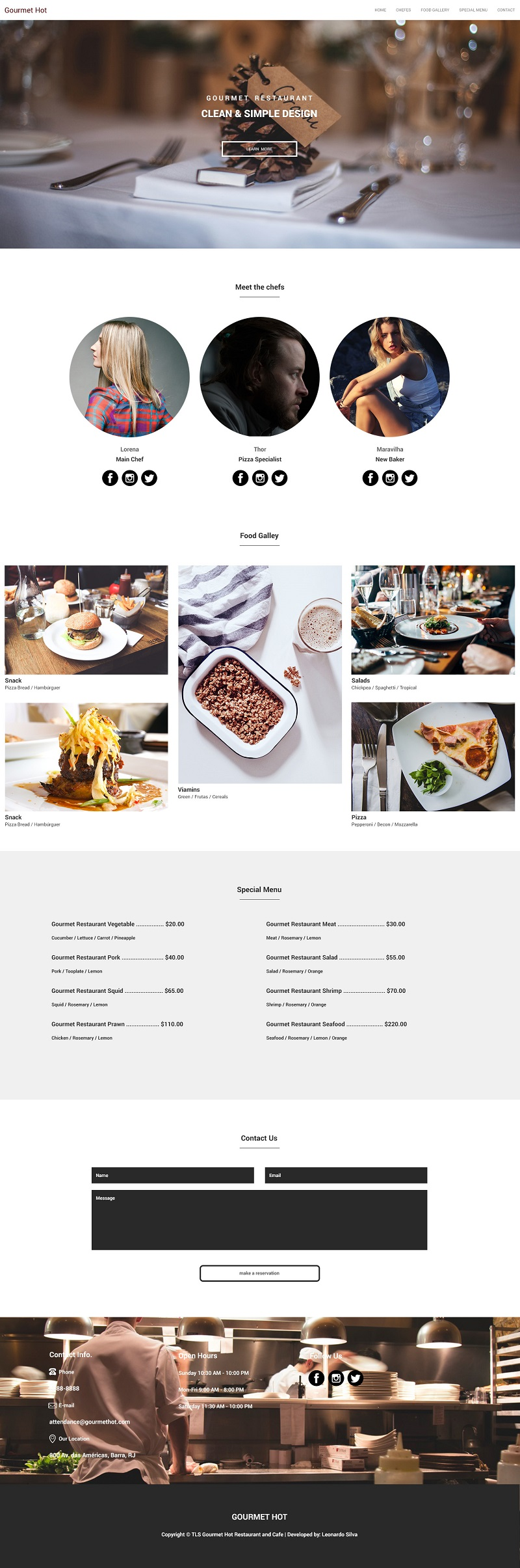 Tema GourmetHot